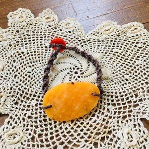 Polished Stone Bracelet